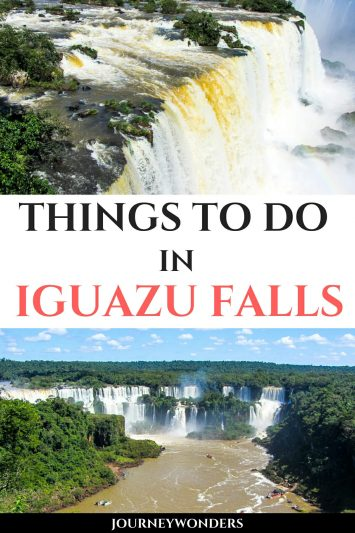 Things to Do and See in Iguazu Falls Argentina Brazil South America Travel