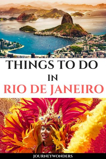 Things to Do and See in Rio de Janeiro Brazil South America Travel