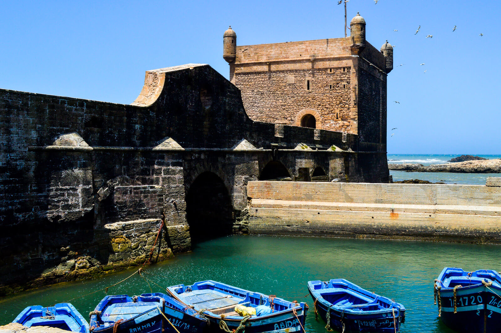 Essaouira, the real life version of Astapor in Game of Thrones