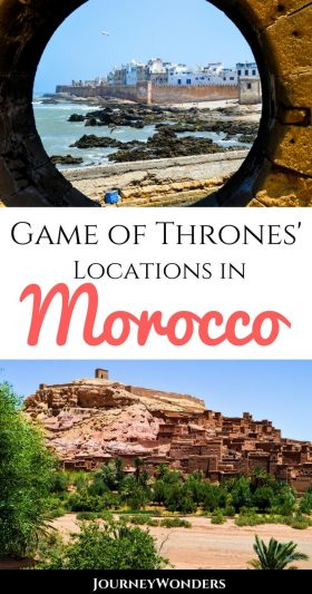 Are you a Game of Thrones fan? If you're in Morocco you can actually visit the top filming locations of this show such as Astapor and Yunkai! Read all about here!!! #GameofThrones #Morocco #Daenerys