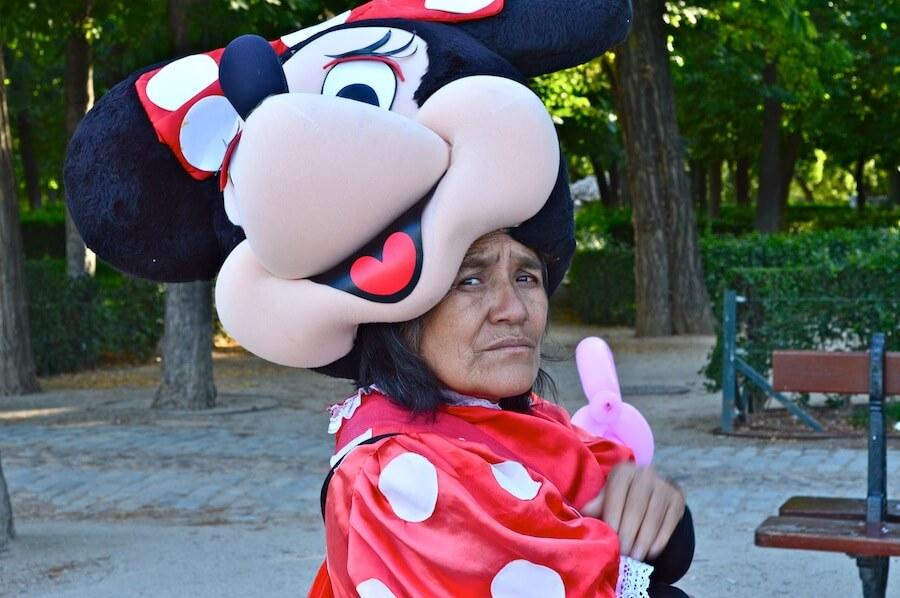 Gypsy Minnie Mouse