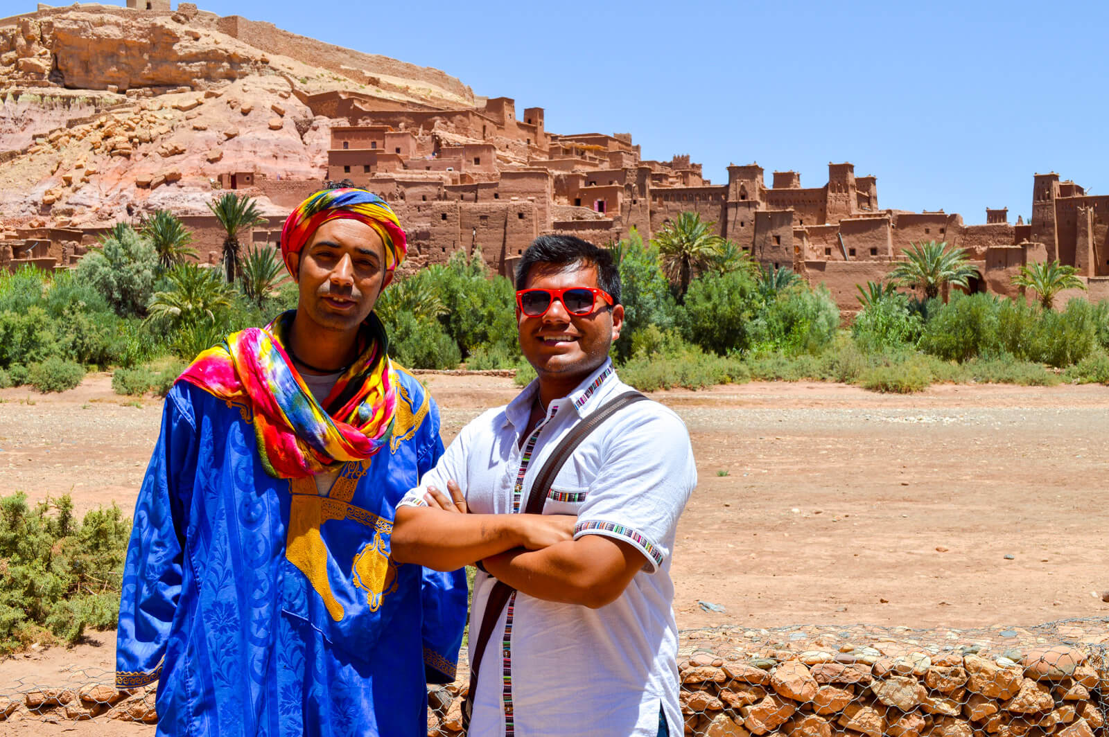 Hanging out with my Bedouin Bro at Ait Benhaddou