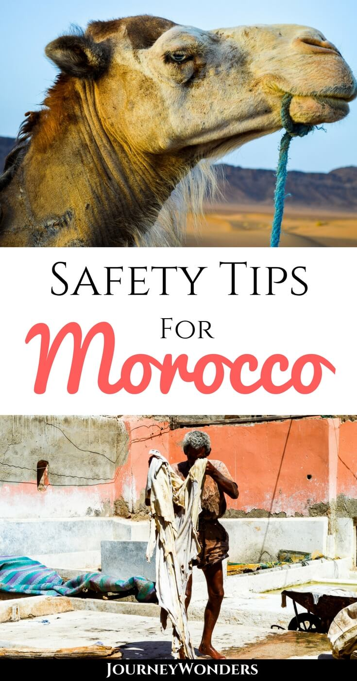Is Morocco Safe to Travel? Would you ever come back to a place where you had the worst experiences of your life? I would and here's how you can avoid them. #Morocco #TravelTips #Safety #NorthAfrica
