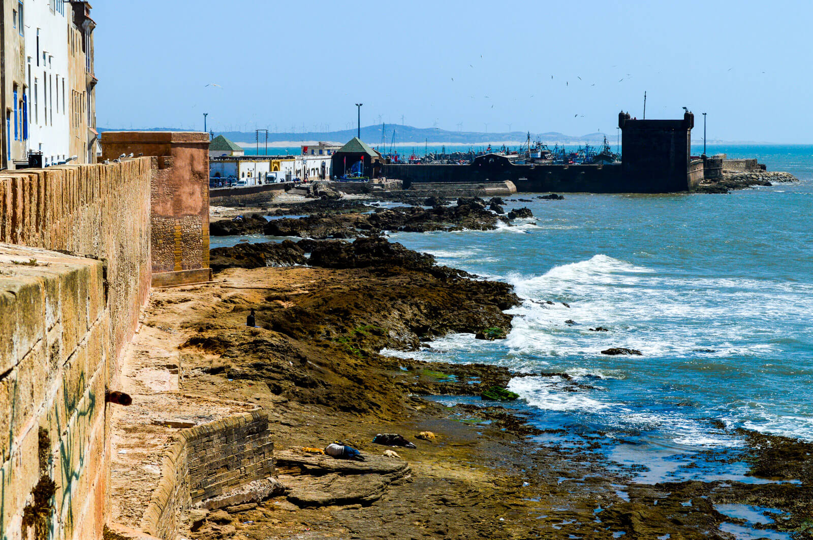 Panoramic view of Essaouira