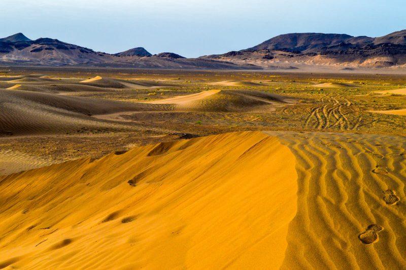 Sunrise at the Sahara Desert of Morocco