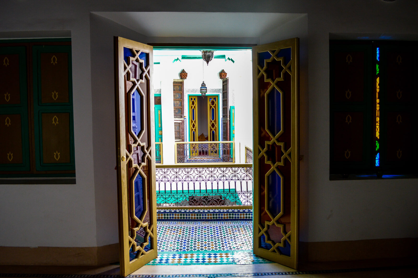 The Doors of The Riads of Marrakesh