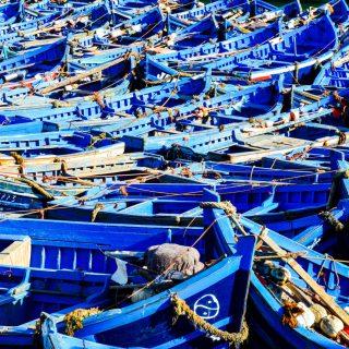 The Funky Boats of Essaouira