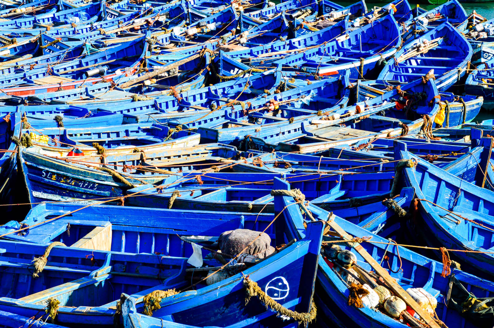 The Funky Boats of Essaouira