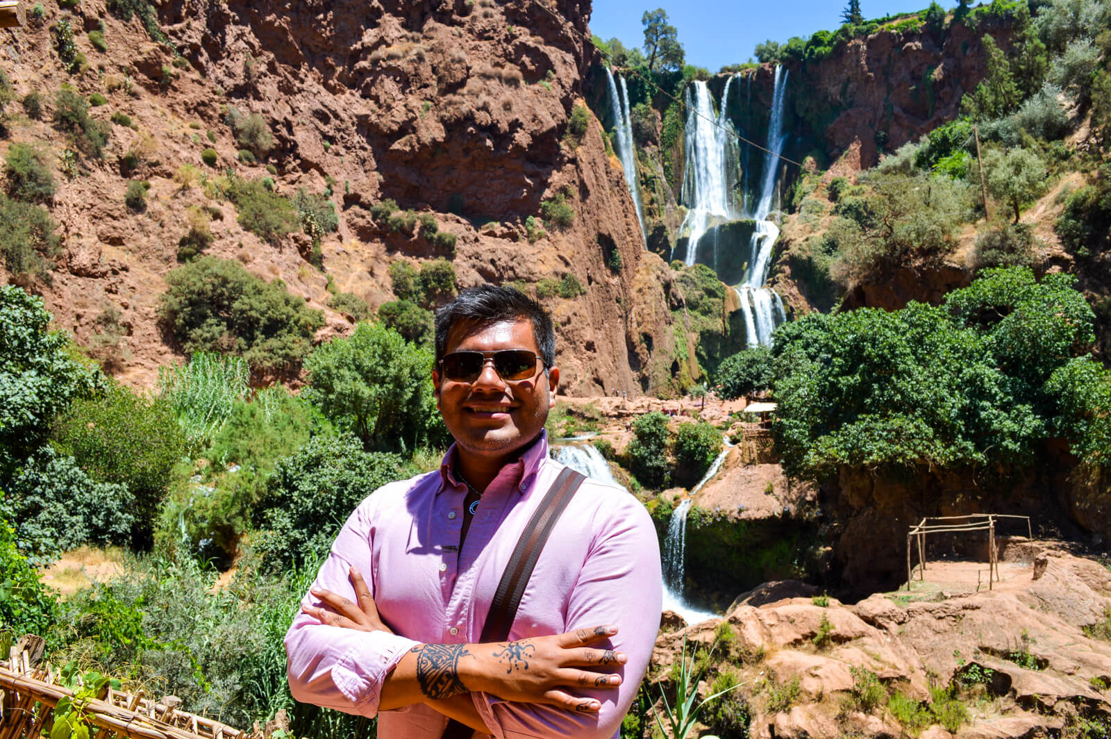 The Man of Wonders at the Ouzoud Waterfalls