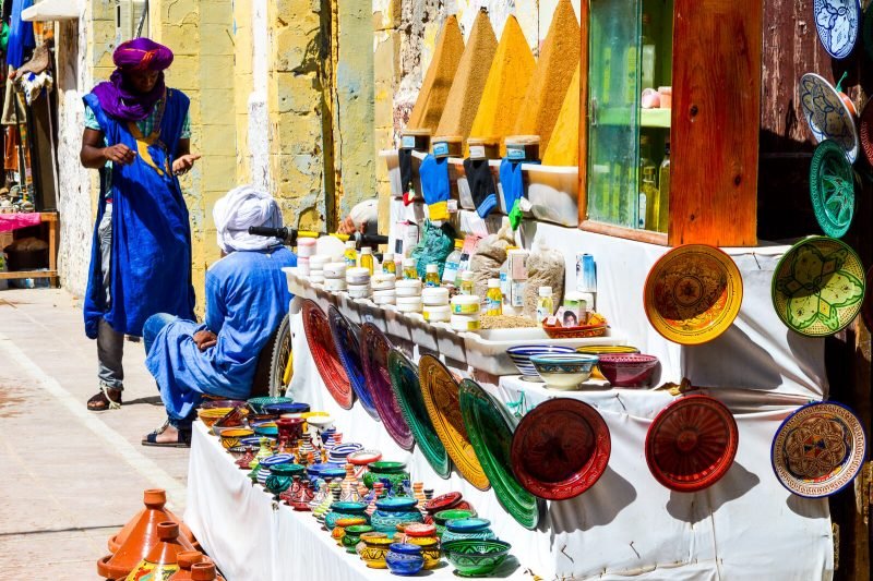 The Markets of Essaouira, Morocco