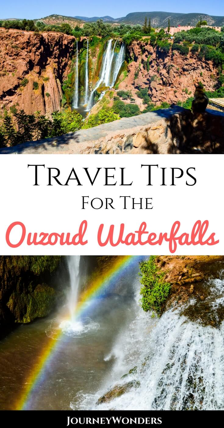 In a small village two hours away from Marrakech, you will find the impressive Ouzoud Waterfalls. Read this article to know all about this Wonder of Nature!!! #Morocco #Waterfalls #Ouzoud #Marrakesh
