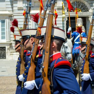 The Royal Guards of Spain