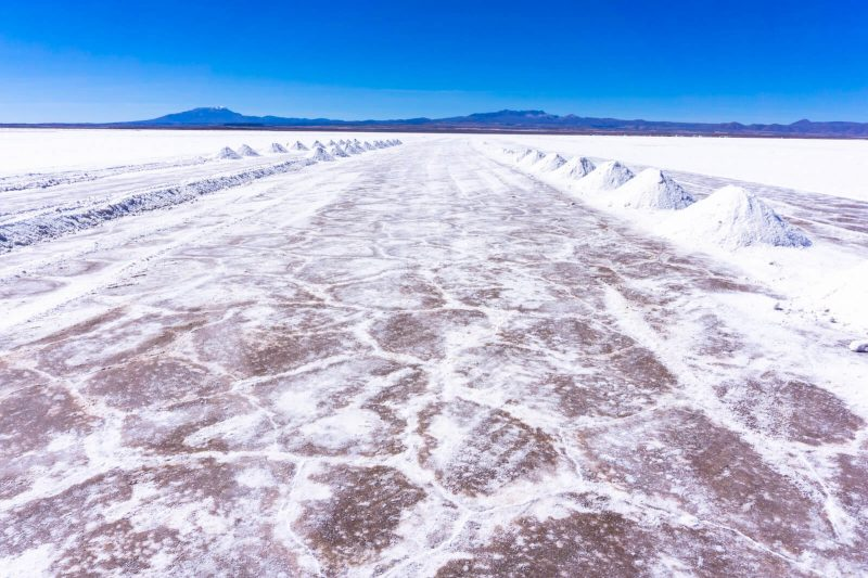 The beautiful vastness of the Salar de Uyuni