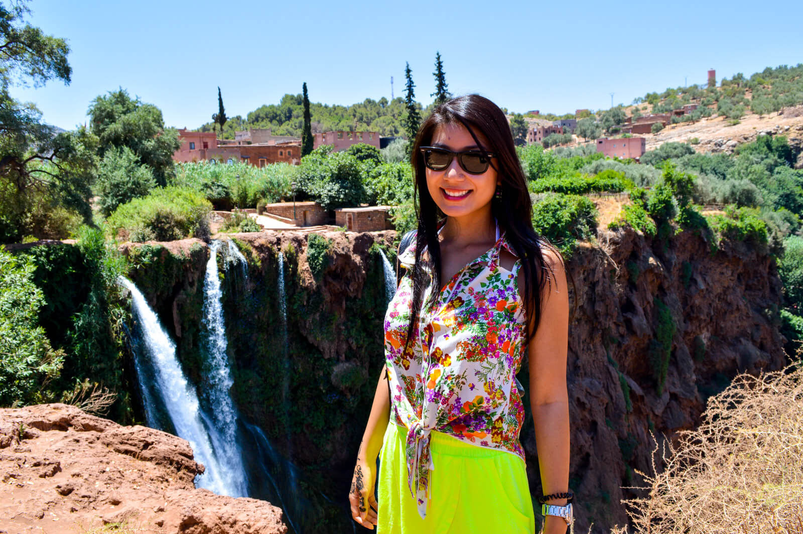 The natural beauty of the Ouzoud Waterfalls
