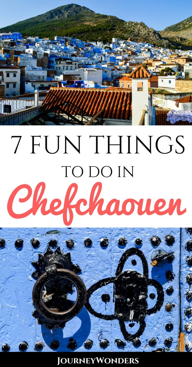 Chefchaouen is without any doubt the best city in all of Morocco and a must-see stop in your itinerary. Here's the Best 5 Things to Do and See in Chefchaouen. Enjoy!!! #Chefchaouen #Morocco #Sahara #NorthAfrica #Travel