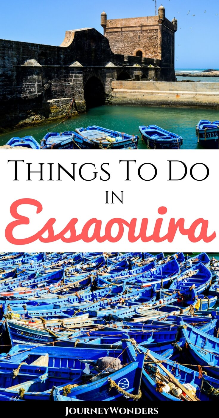A handy Travel Guide to Essaouira's top attractions. Explore and enjoy this coastal city of Morocco by reading the best things to do and see in Essaouira my friends! #Morocco #Essaouria #NorthAfrica