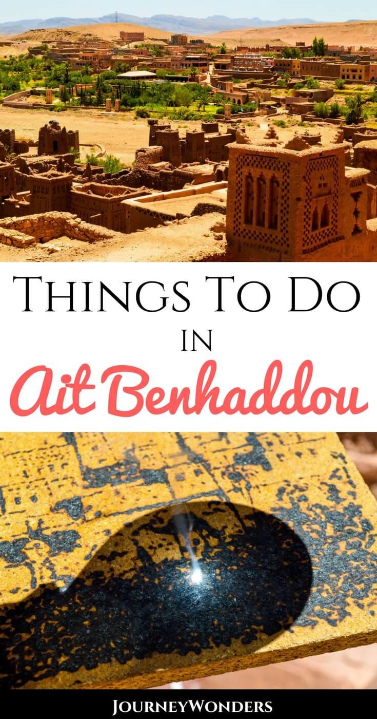 What to do in Ait Benhaddou, Morocco #Marrakesh #Sahara #Tour #Morocco #GameofThrones