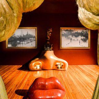 Marylin Monroe by Salvador Dali