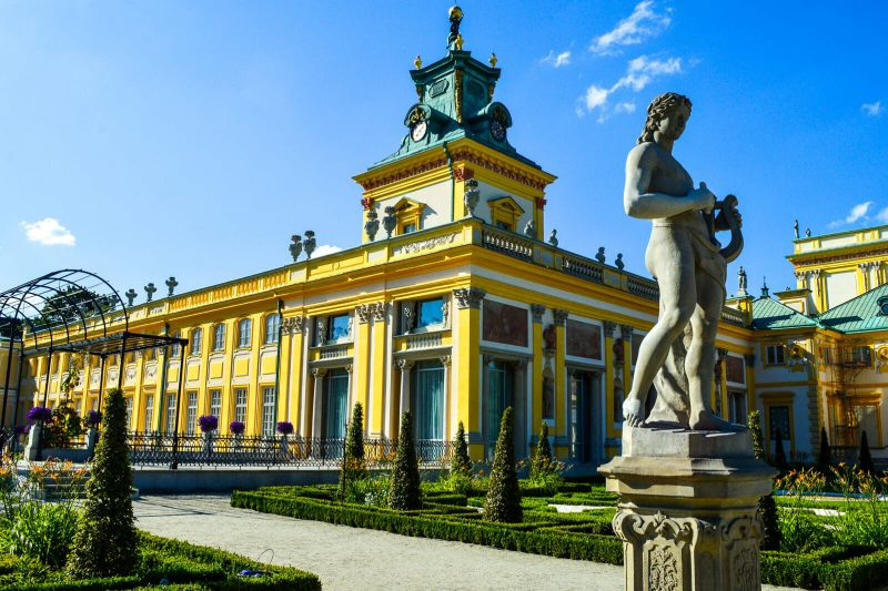 The Baroque Wilanow Palace of Warsaw