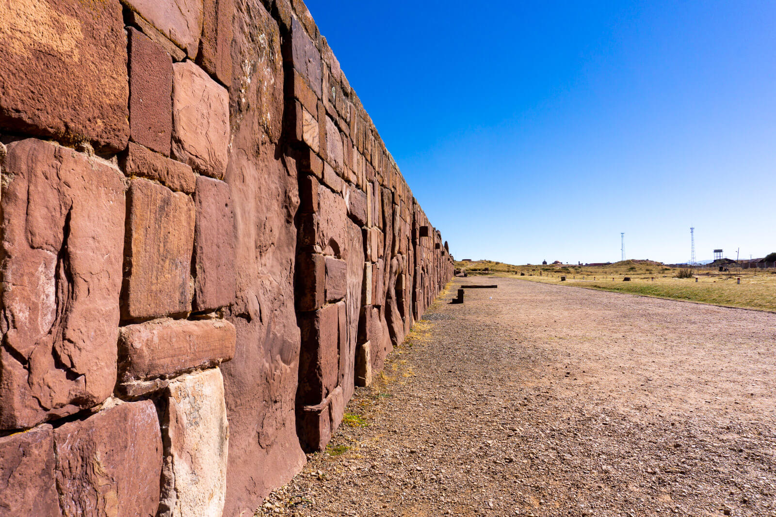 The Blocks at Tiwanaku Ruins, Bolivia