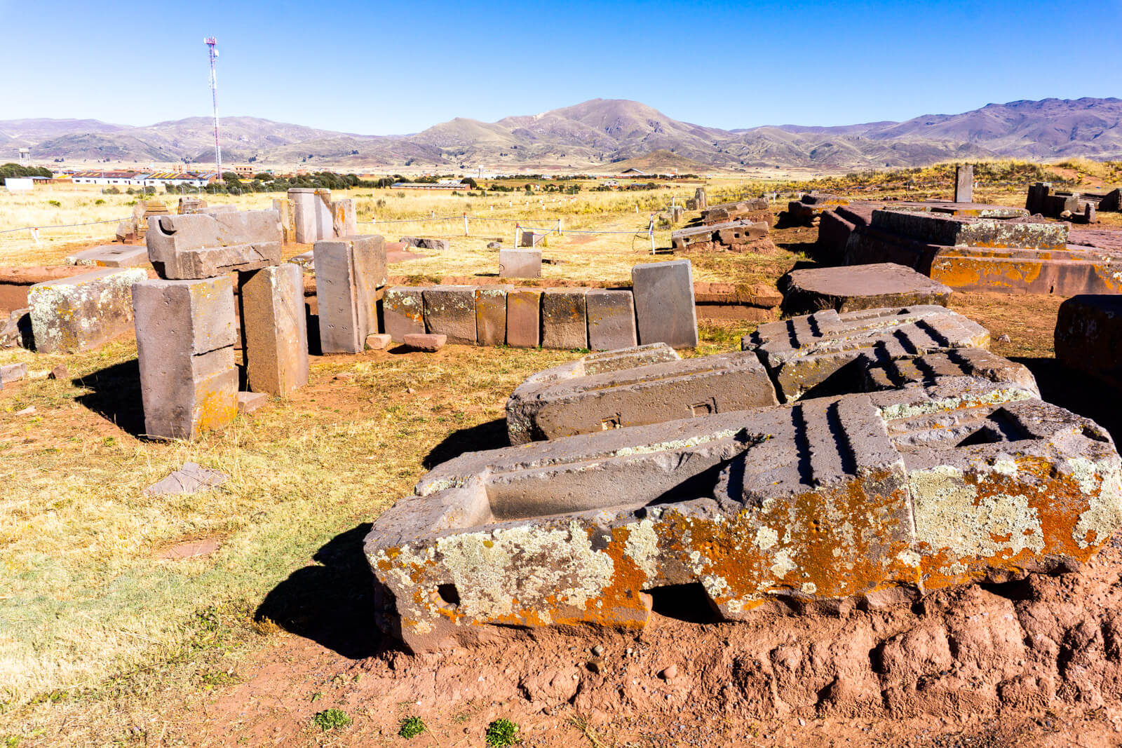 The Puma Pumka Pyramid Blocks at Tiwanaku