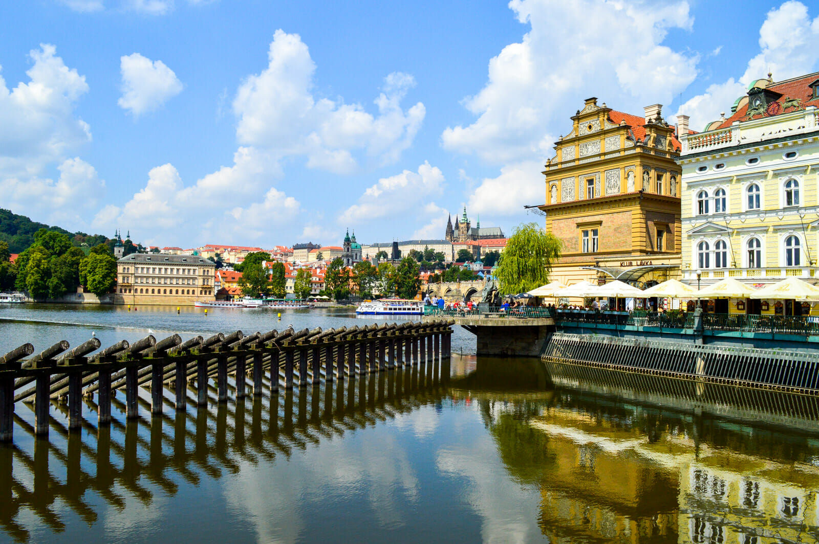 The striking beauty of Prague