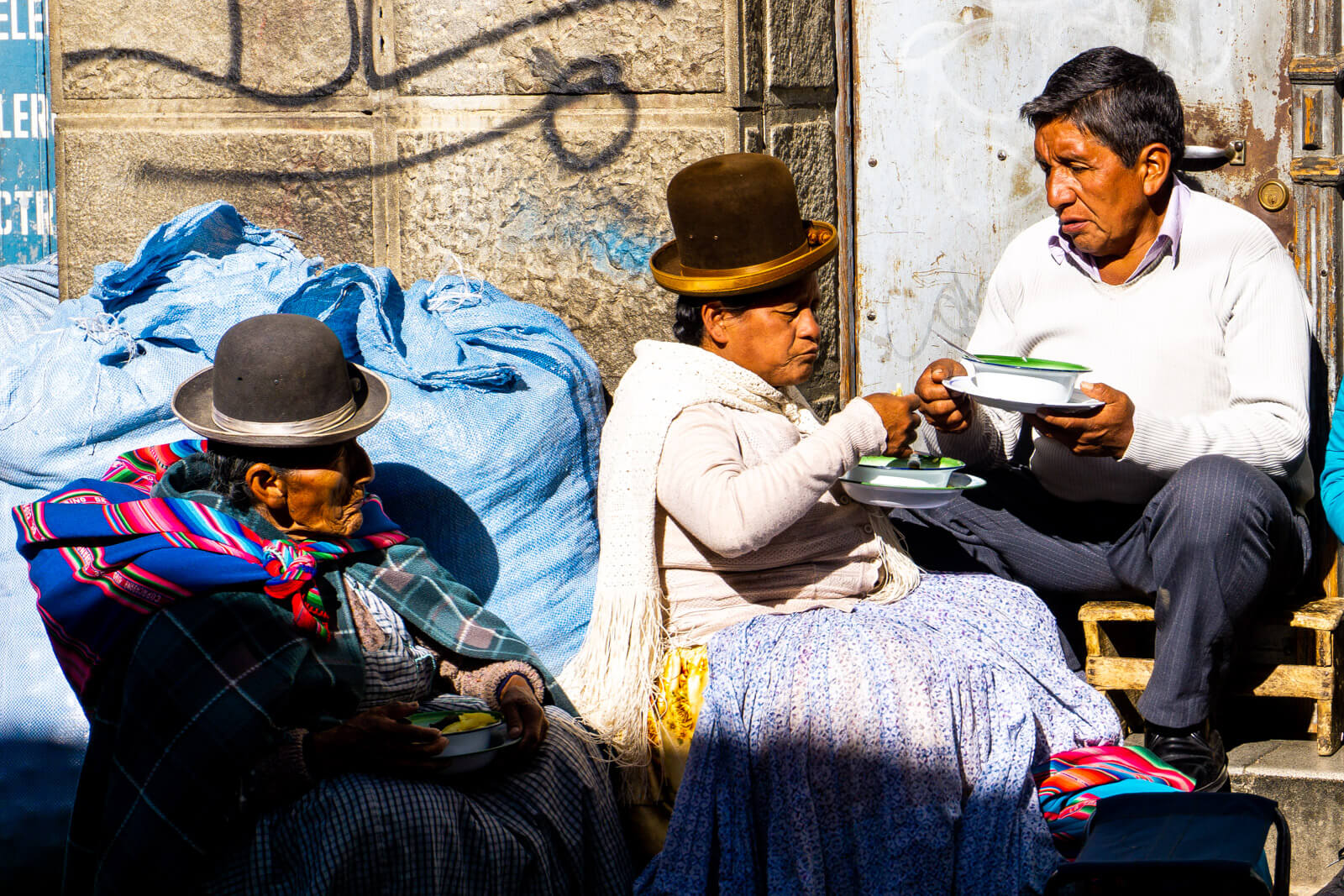 The friendly locals of Bolivia