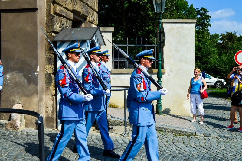 The soldiers of the Czech Republic