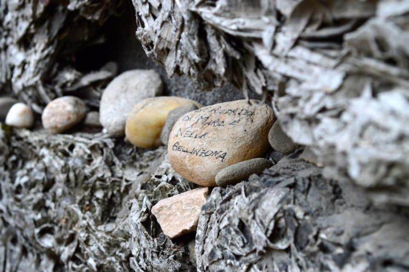 Stones at Auschwitz