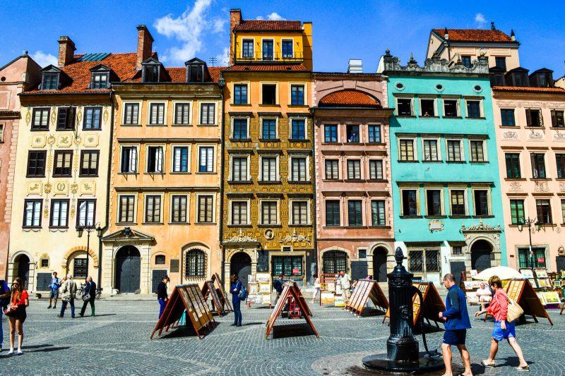 Warsaw, capital of Poland