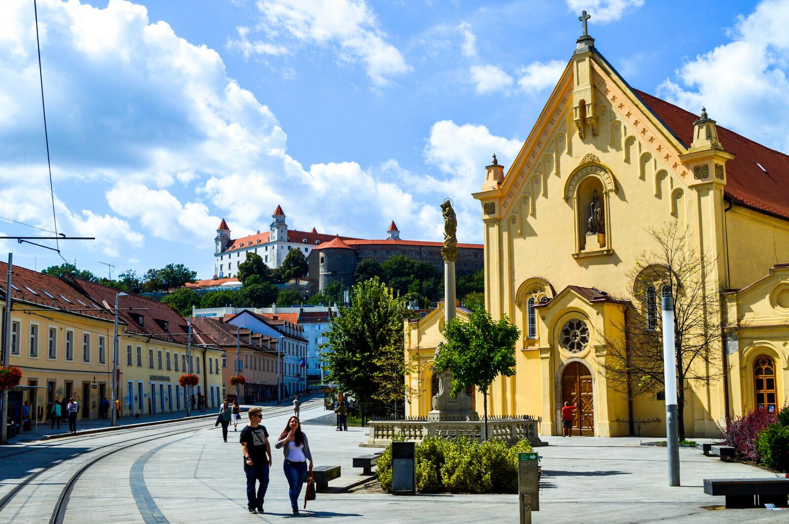 Bratislava, capita of Slovakia
