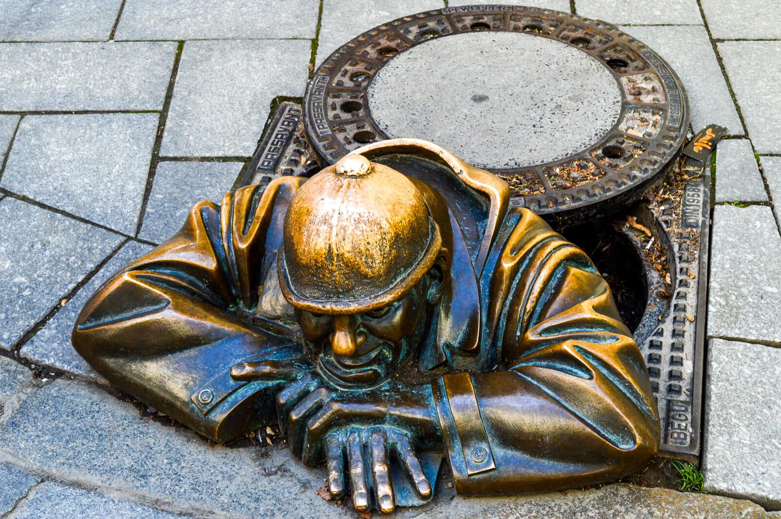 Sculptures of Bratislava, Slovakia