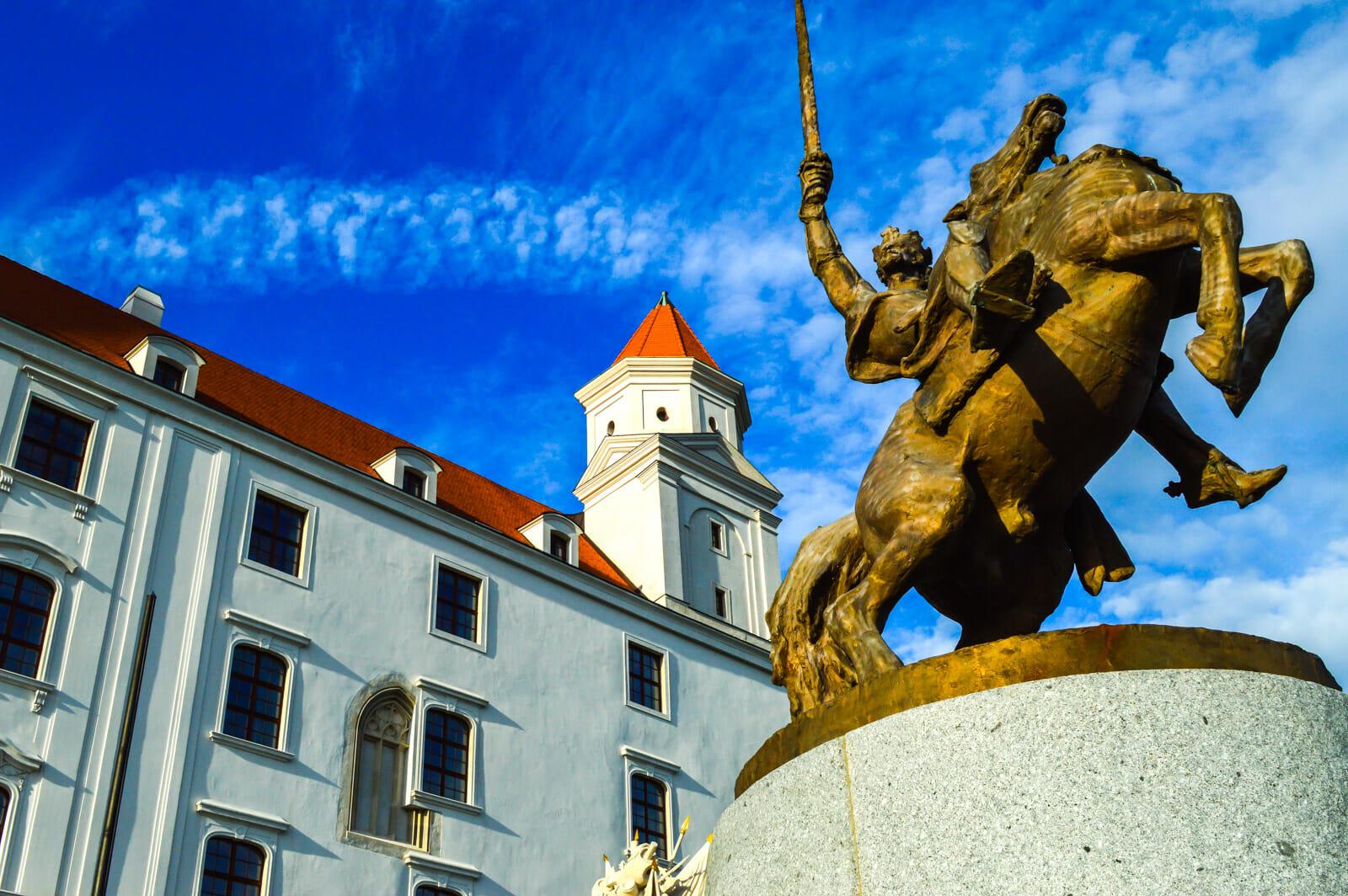 The Castle at Bratislava