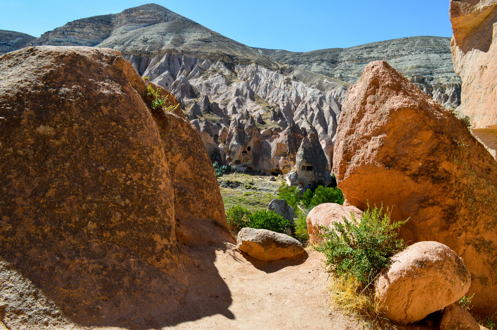 A self guided tour to Cappadocia