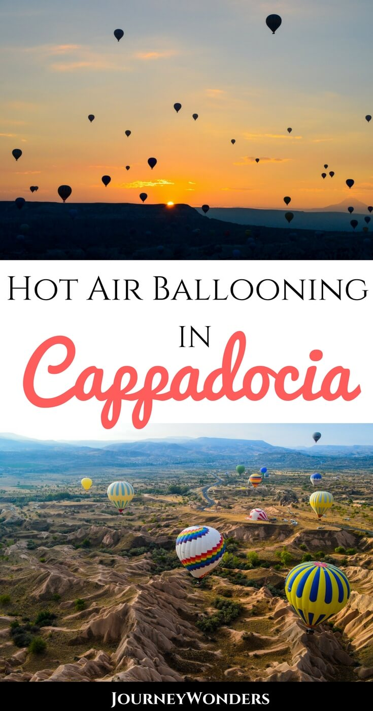 Riding over the landscape of Cappadocia in a hot air balloon is a photography adventure to add to every Turkey bucket list. Pure Instagram gold, read on to see why this experience is a must in Goreme as well as how to find the Best Hot Air Balloon Company in Cappadocia #Turkey #Cappadocia #Asia