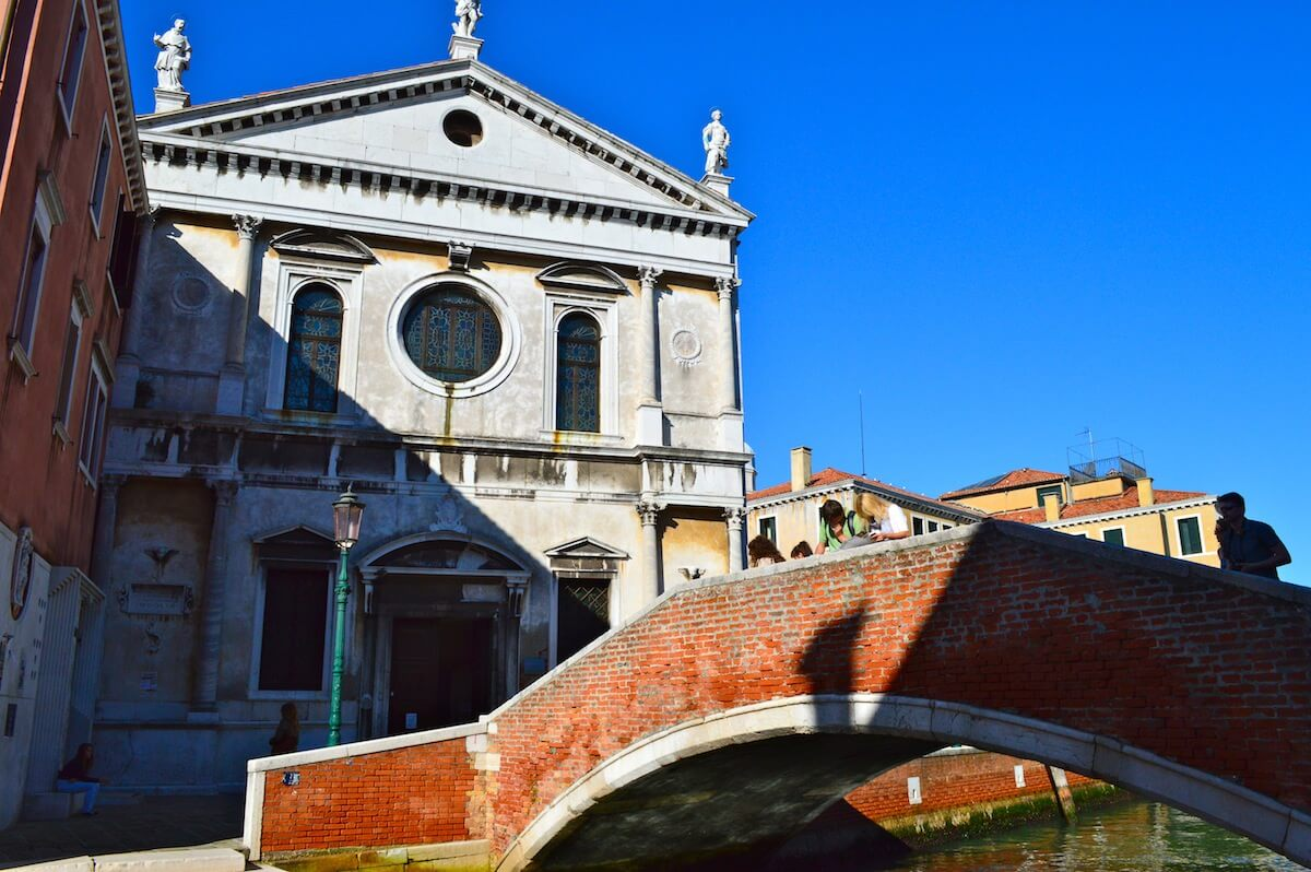 One of the 431 bridges of Venice