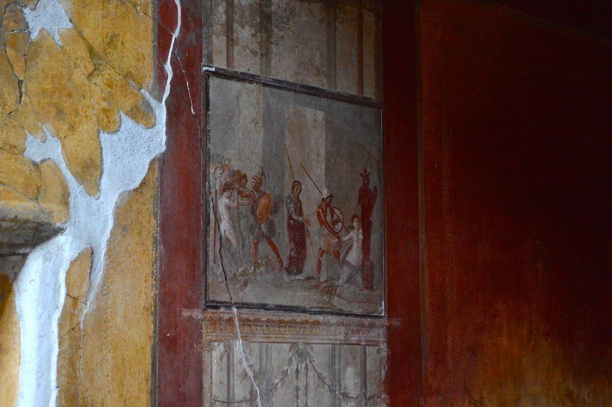 Paintings at Pompeii