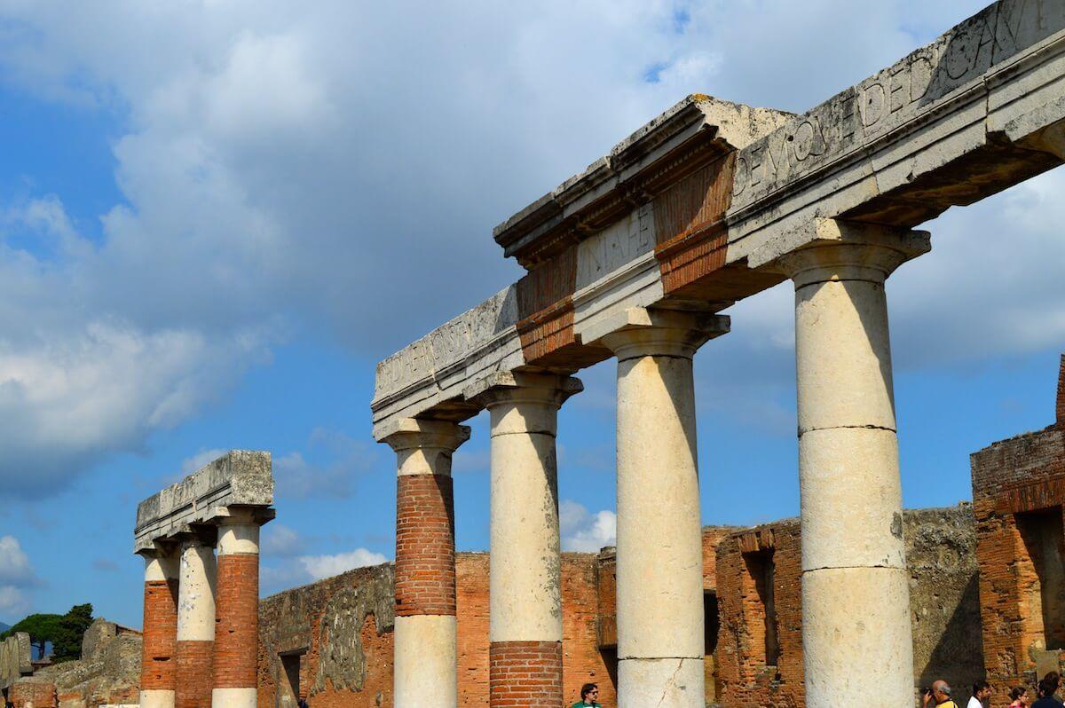 Roman heritage at Pompeii