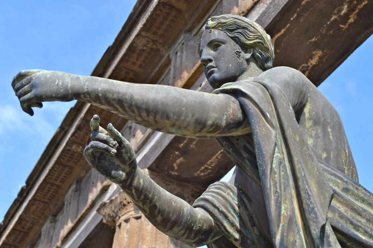 Statue of Apollo, God of the Sun
