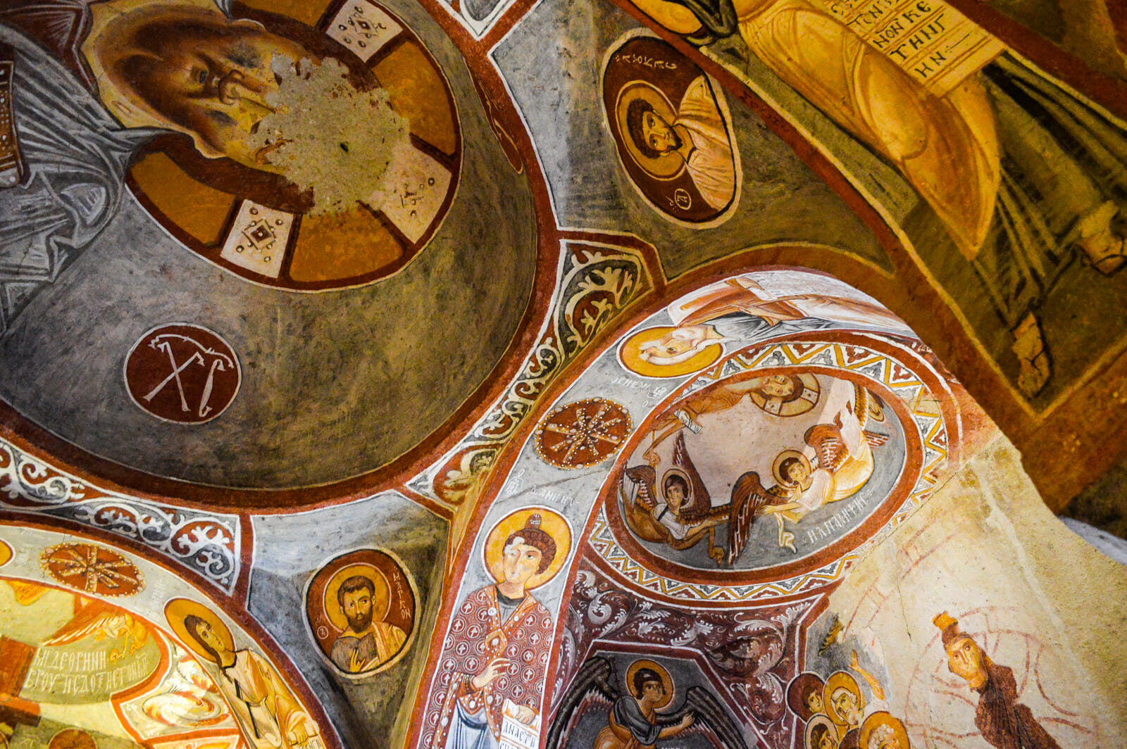 The Church Caves of Cappadocia