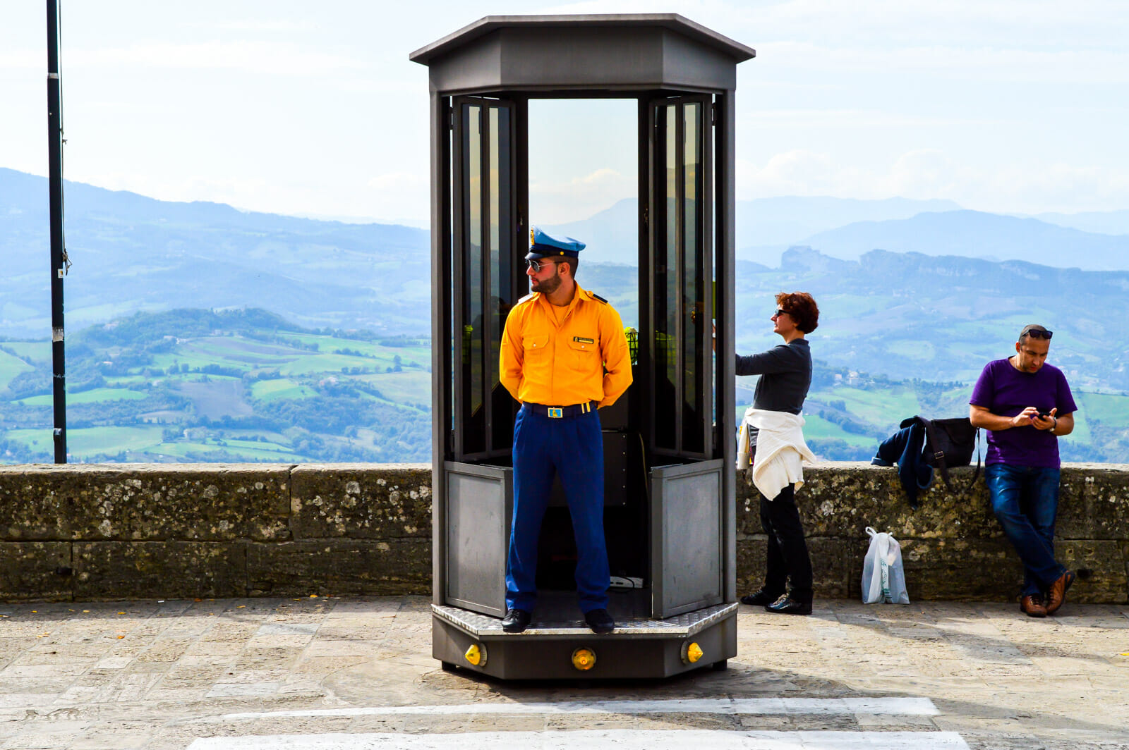 The Guards at San Marino