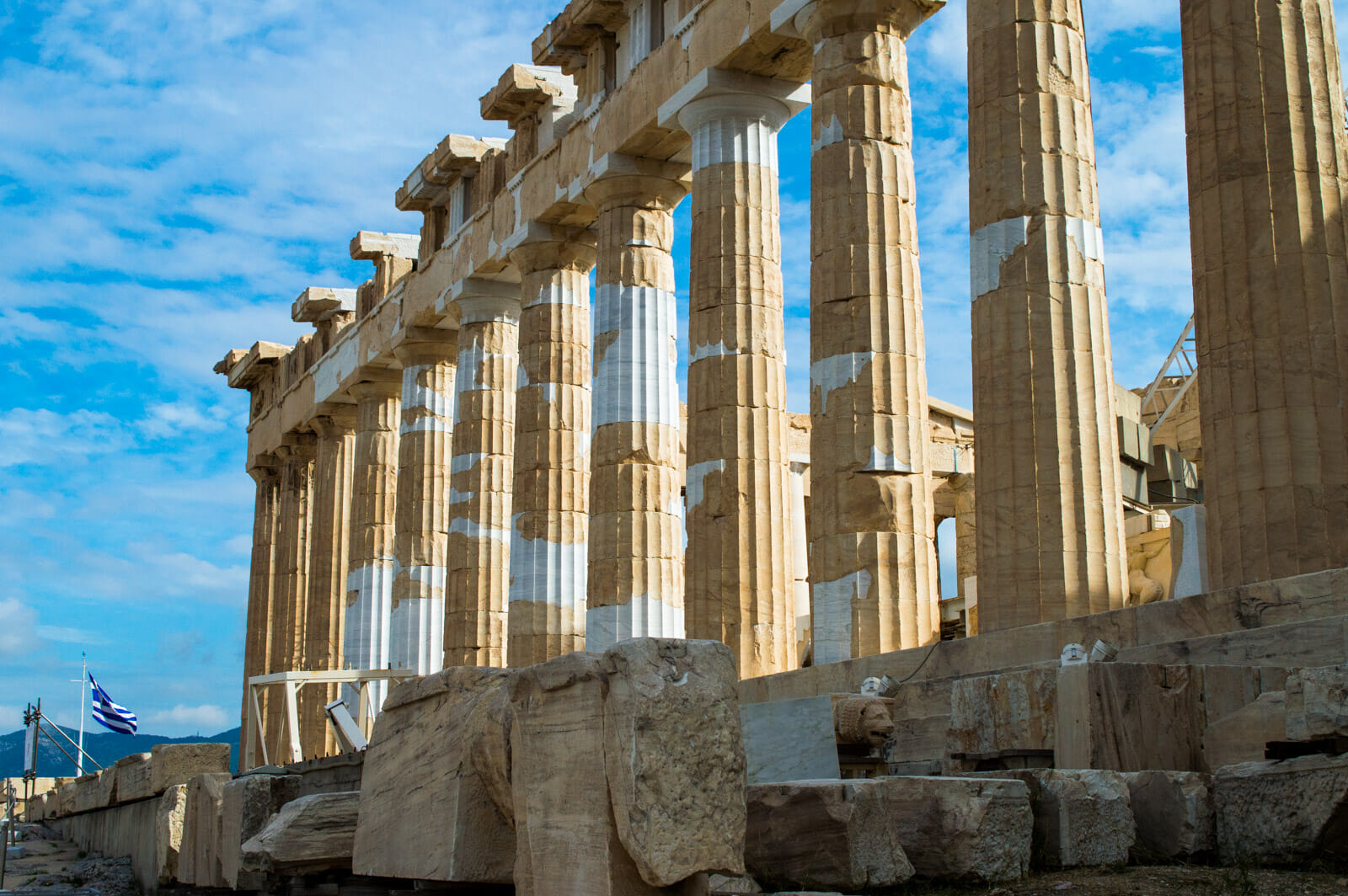 The Helenistic architecture of the Parthenon