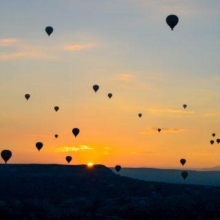 The Hot Air Balloons of Cappadocia 1