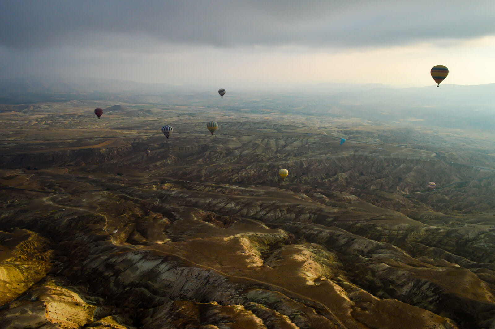 The Hot Air Balloons of Cappadocia 5