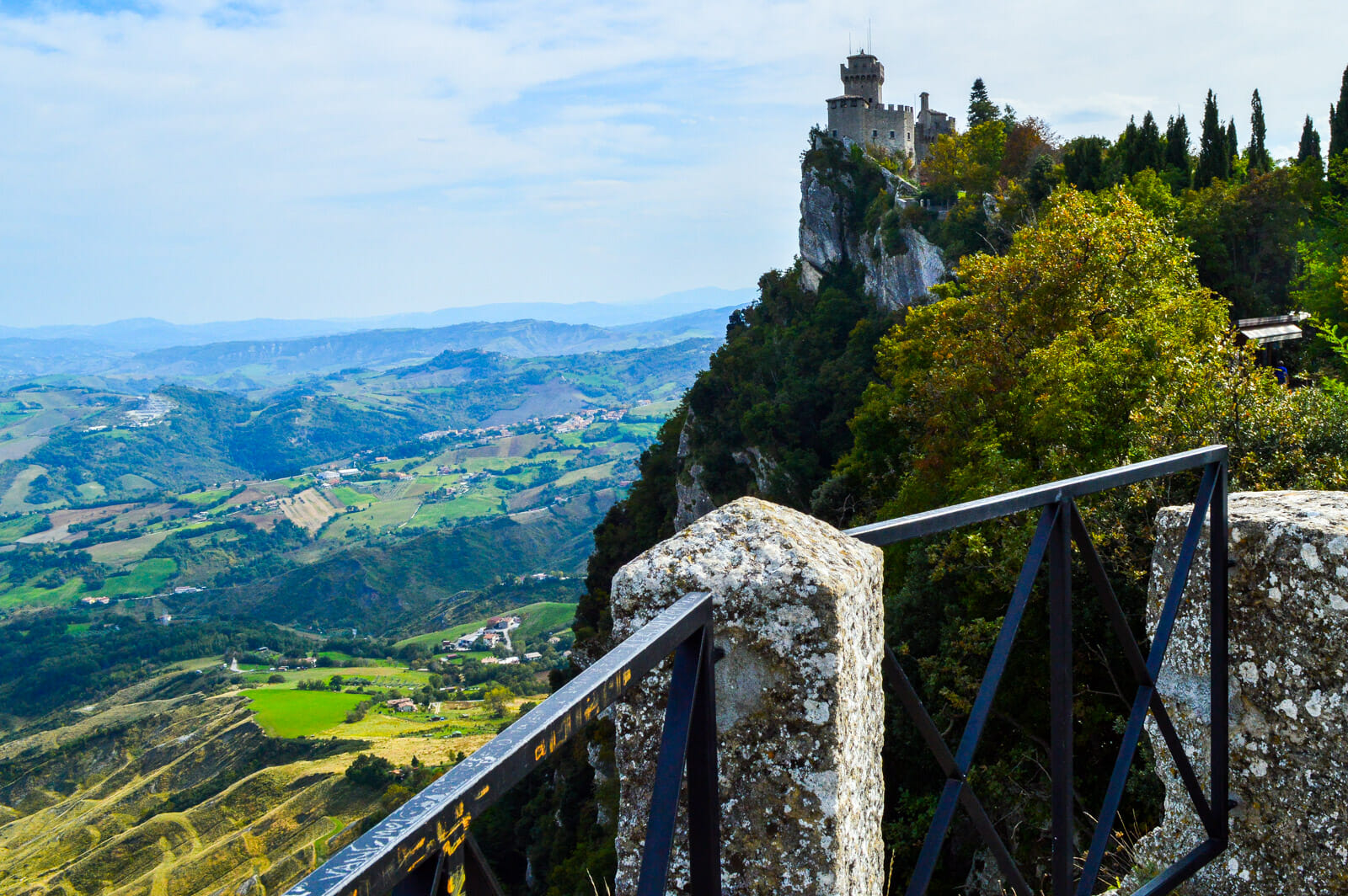 The Medieval Beauty of San Marino