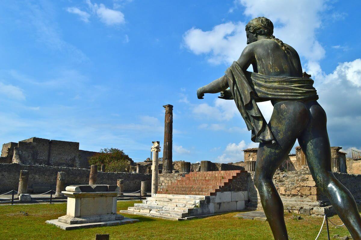 The Temple of Apollo at Pompeii