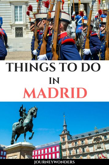 Things to Do and See in Madrid Spain Europe Travel