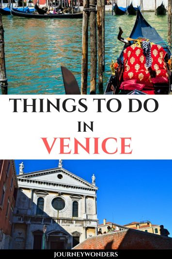 Things to Do and See in Venice Italy Europe Travel