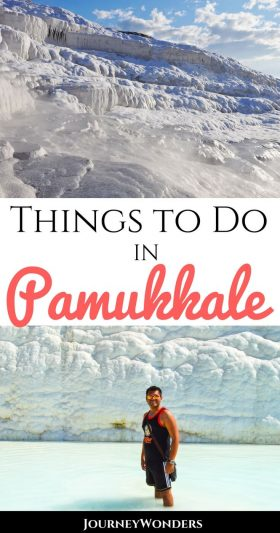 Pamukkale is probably one of the weirdest destination in the entire world. Come and explore Turkey with me and check out the Best Things to Do in #Pamukkale #Turkey #Asia