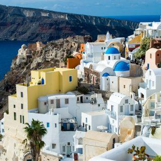 The beauty of Santorini, Greece